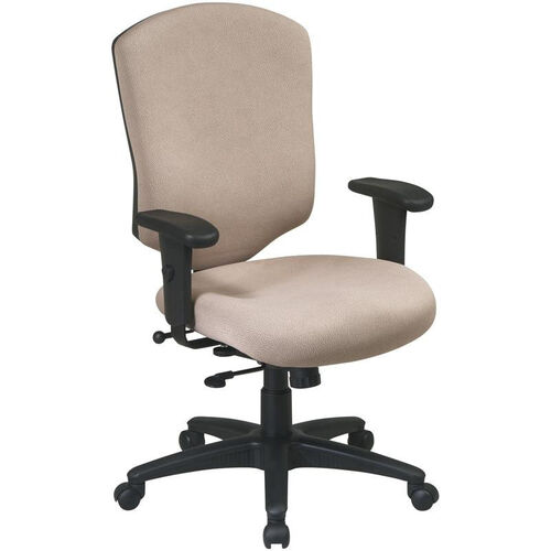 Our Work Smart Distinctive High Back Executive Chair with Ratchet Back and Adjustable Seat Height is on sale now.