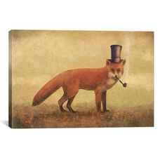 Crazy Like A Fox by Terry Fan Gallery Wrapped Canvas Artwork