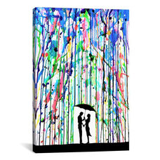 Pour Deux by Marc Allante Gallery Wrapped Canvas Artwork