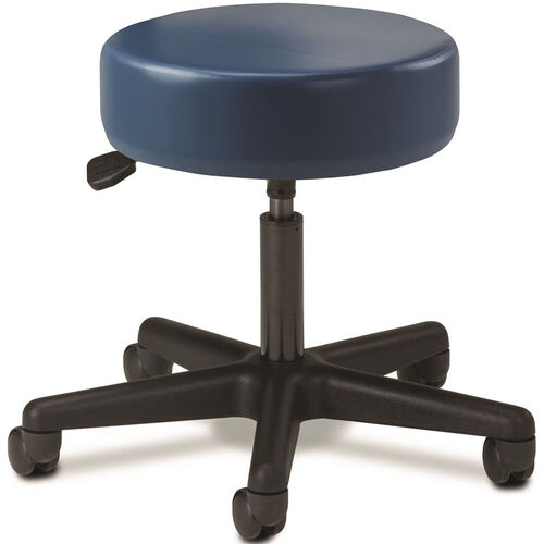 Our Pneumatic Adjustable Medical Stool - Royal Blue with Black Base is on sale now.