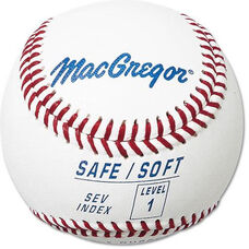 Safe/Soft Leather Covered Baseballs - 1 Dozen