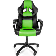 Monza Ergonomic Entry Level Gaming Chair - Green