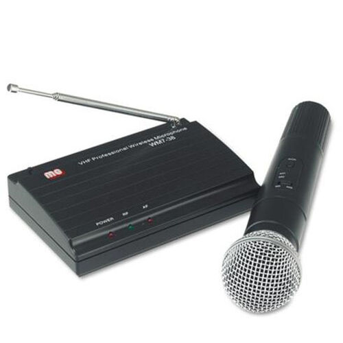 Our Wireless Handheld Very High Frequency Microphone Kit with Built-In Transmitter - 12