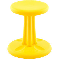 "Kids Kore™ Wobble 14"" Seat Height Chair - Yellow"