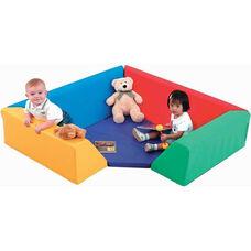 Multicolor Foam Cozy Corner - 54