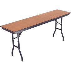 Laminate Top and Plywood Core Folding Seminar Table - 18