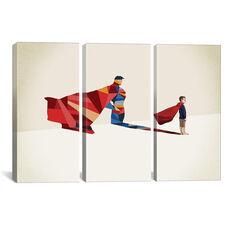 Walking Shadow Hero I by Jason Ratliff Oversized Gallery Wrapped Canvas Artwork - 60