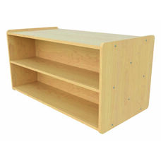 1000 Series 23.5''H Toddler Size Double Sided Shelf Storage Unit - Assembled