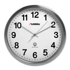 Lorell Atomic Wall Clock - 11 -3/4
