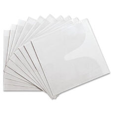 Compucessory Self-Adhesive Poly Cd/Dvd Holders - Pack Of 50