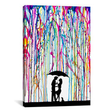 Two Step by Marc Allante Gallery Wrapped Canvas Artwork