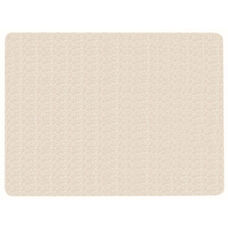 Frameless Burlap Weave Vinyl Display Panel with Radius Corners - Off White - 18