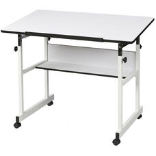 MiniMaster™ II Table with White Base and White Top 24