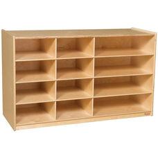 Wooden Board Game Storage Unit - 48