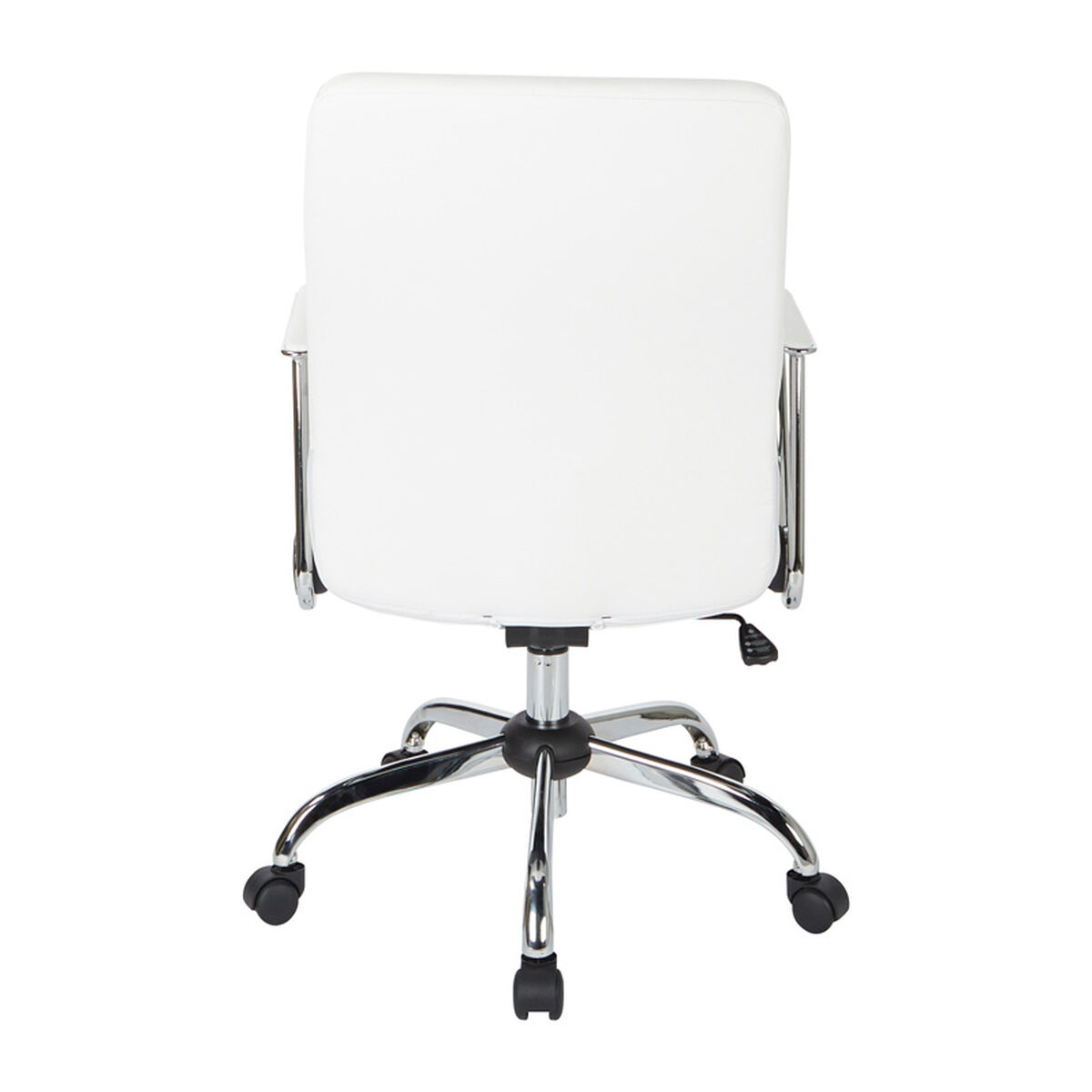 Our Work Smart Fl80287c Faux Leather Office Chair White Is On Now