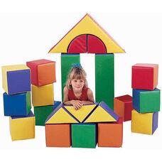 21 Piece Multicolor Soft Block Set