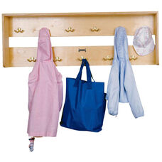 Wall Mounted Coat Locker with 11 Double Hooks
