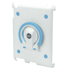 MultiStand for iPad 2 - White Shell with White and Blue Ring