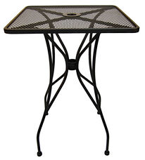 Outdoor Wrought Iron Table with 30