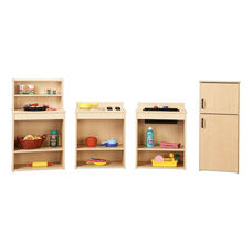 Young Time® Complete Play Kitchen Set