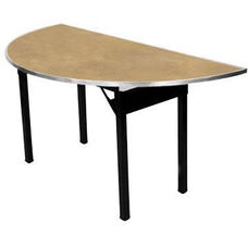 Original Series Half Round Banquet Table with Plywood Top - 30