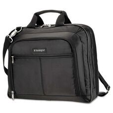 Kensington® Simply Portable 40 Classic Laptop Case - 15-3/4 x 3-1/2 x 12-1/2 - Black