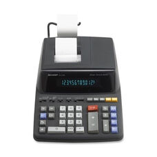 Sharp 12 Digit Calc -2 Color Printing -8 7/8