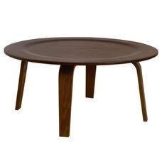 Luna Indoor Plywood Coffee Table - Walnut