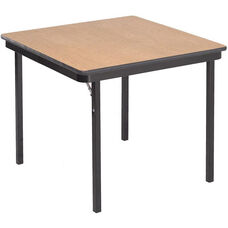 Square Laminate Top and Plywood Core Folding Seminar Table - 30
