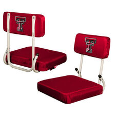 Texas Tech University Team Logo Hard Back Stadium Seat