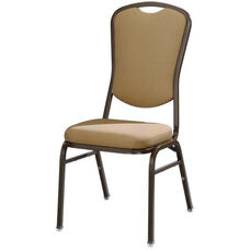Omega I Banquet Stack Chair with Curved Rectangular Back