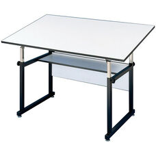 Black WorkMaster Drawing Table - 36
