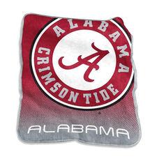 University of Alabama Team Logo Raschel Throw