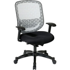 Space Executive DuraFlex with Flow-Thru Technology™ Back and Mesh Seat Chair - Black