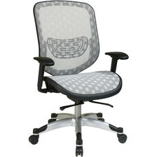 Space Executive DuraFlex with Flow-Thru Technology™ Back and Seat Chair - White