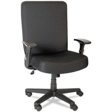 Alera Plus™ XL Series Big and Tall High-Back Task Arm Chair - Black