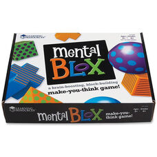Learning Resources Mental Blox Critical Thinking Activity Set - 20 pieces