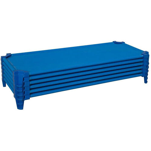 Our Set of Five Heavy Duty Standard Size Cot with Removable and Washable Fabric - Assembled - 53