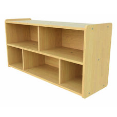 1000 Series 23.5''H Toddler Size Sectional Shelf Storage with 5 Compartments - Unassembled