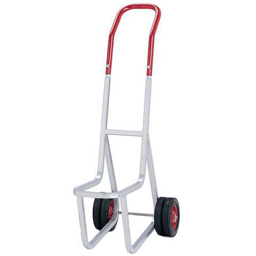 Narrow Stacked Chair Heavy-Duty Frame Dolly with 4 Wheels