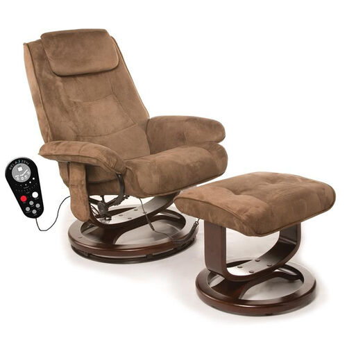 Our Relaxzen Deluxe Padded Microfiber Massage Recliner - Chocolate Brown is on sale now.