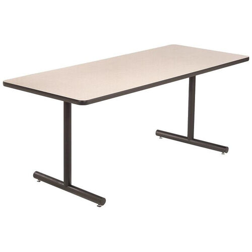 High Pressure Laminate Top Conference/Classroom Table with 1 - 1/4
