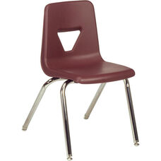 2000 Series Stack Chair with 18''H Seat - 18.75''W x 20''D x 30''H
