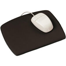 Mouse Pad - Genuine Leather - Black