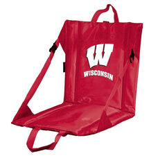 University of Wisconsin Team Logo Bi-Fold Stadium Seat