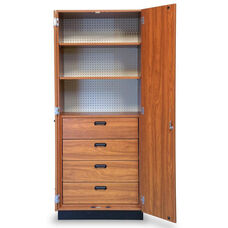 Store-Wall™ Storage System Cabinet with Four Laminate Drawers