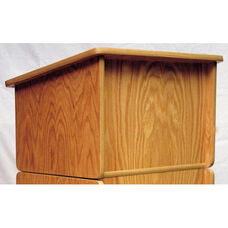 306A Series Tabletop Wooden Lectern - 24