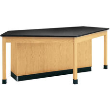 Forward Vision I Wooden Workstation with 1