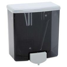 Bobrick Classic Series Surface-Mounted Soap Dispenser - 40oz - Black/Gray