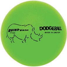 Rhino Skin Dodgeball Set Low Bounce in Neon Green